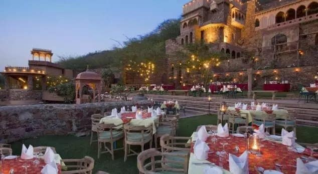 One Day Trip near Delhi for Couples Neemrana Fort Palace