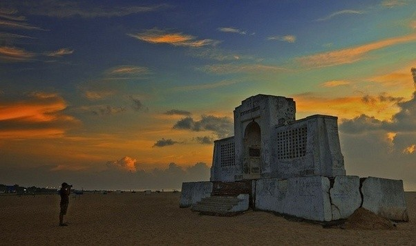 Adyar Beach in Chennai