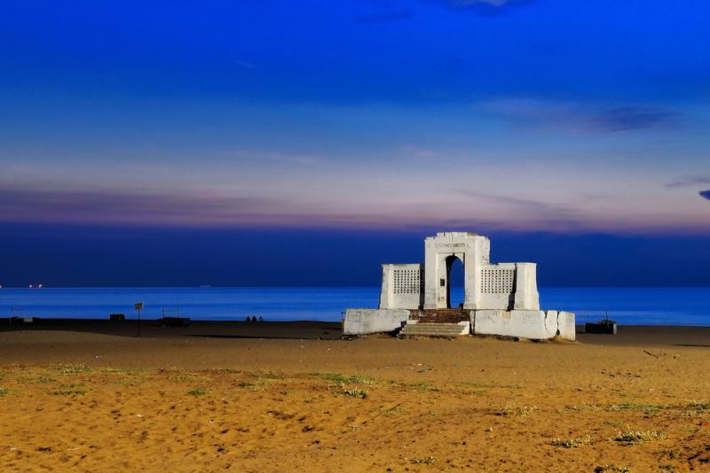Adyar Chennai Beach