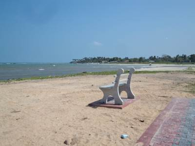 Akkarai Beach in Chennai