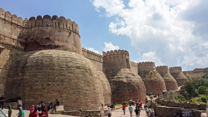 Forts in Rajasthan Kumbhalgarh