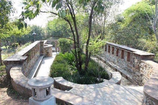Garden of Five Senses Good Picnic Spot in Delhi