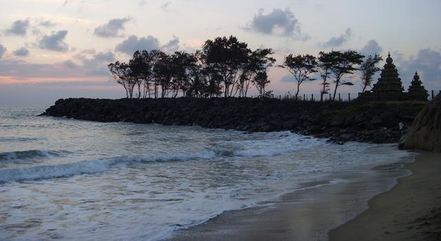 Mahabalipuram Beach in Chennai