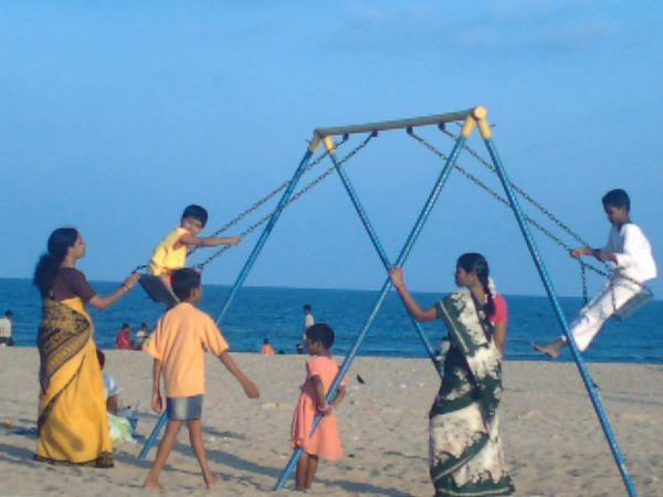 Neelankarai Beach in Chennai