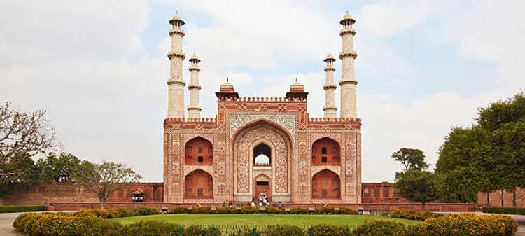 Agra Sightseeing Places to Visit Akbar's Mausoleum