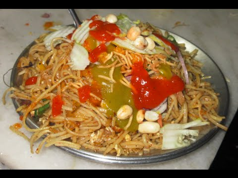 Chowmein Chinese Street Food in Kolkata