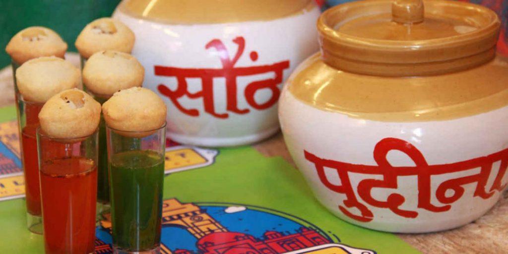 Gol Gappa Famous Street Food in Jaipur