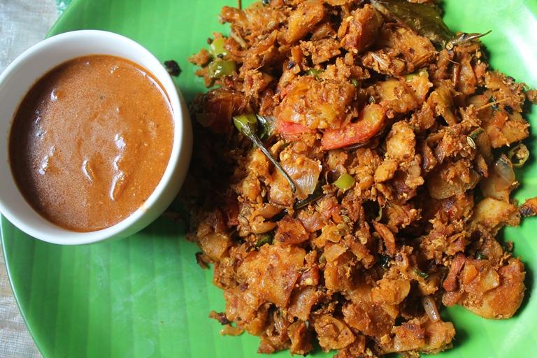 Kothu Parotta Chennai Ramadan Street Food