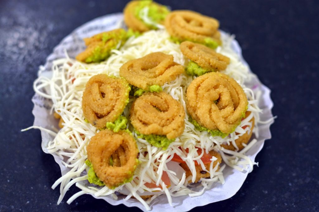 Murukku Sandwich Street Food of Chennai
