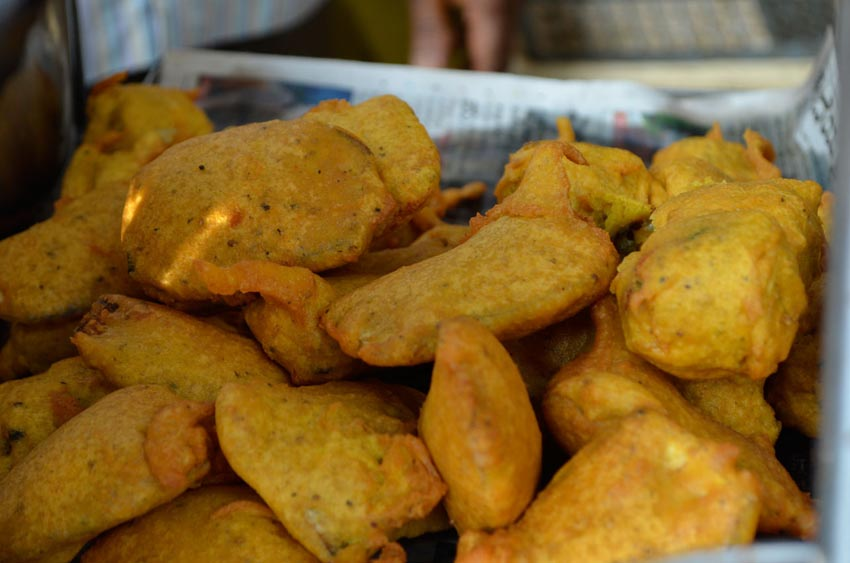 Bhajji Cheap Street Food in Bangalore