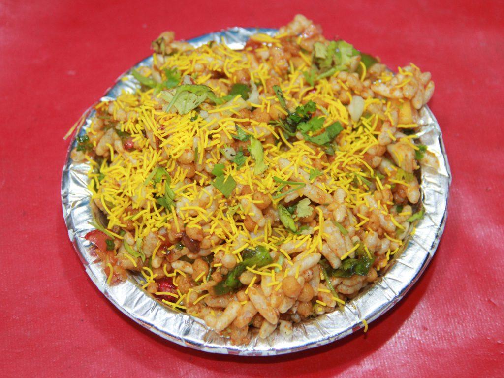 Bhel Puri Famous Street Food in Mumbai