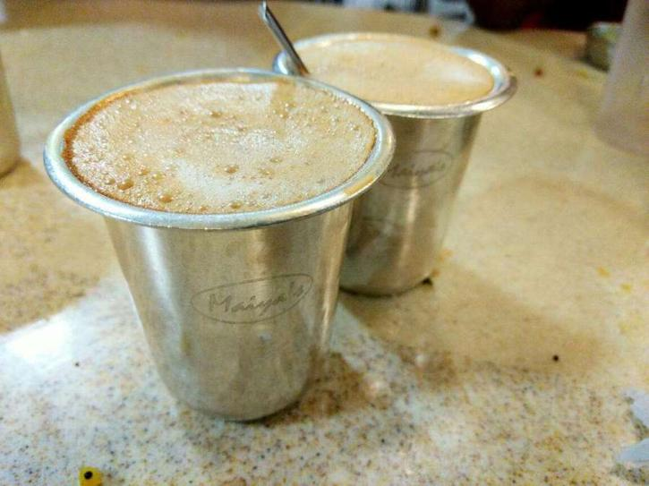Filter Coffee Top Street Food in Bangalore