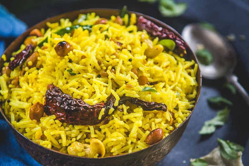 Flavored Rice Healthy Street Food in Bangalore