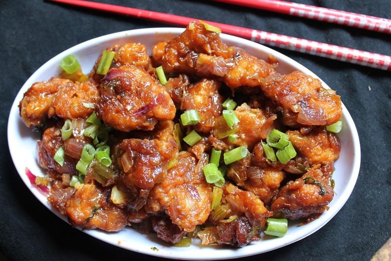 Gobi Manchurian Chinese Street Food in Bangalore