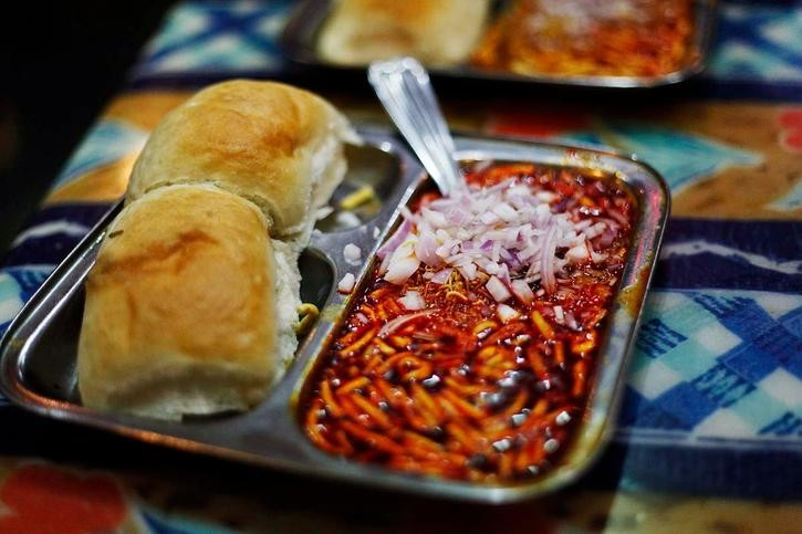 Misal Pav Good Street Food of Mumbai