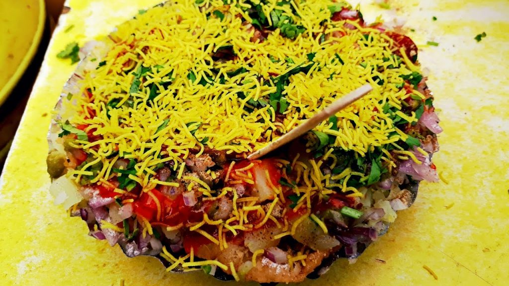 Sev Puri Popular Street Food of Mumbai
