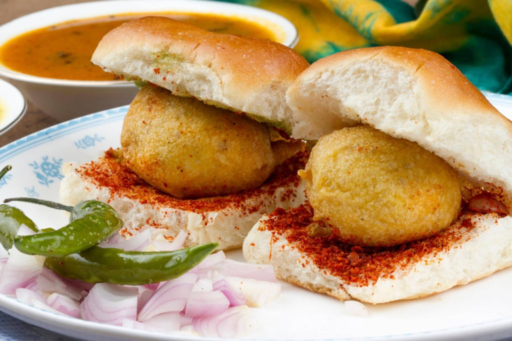 Vada Pav Best Street Food in Mumbai