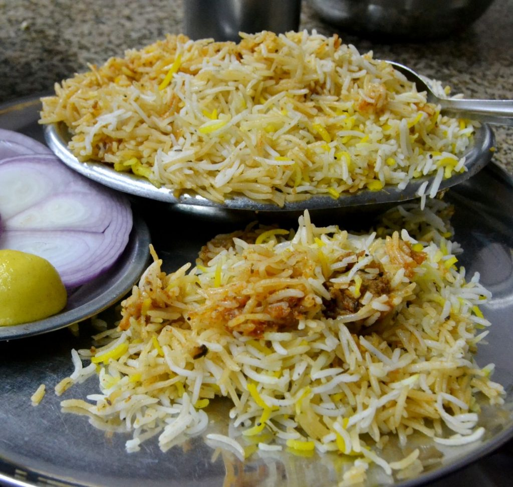 Biryani Best Street Food in Hyderabad