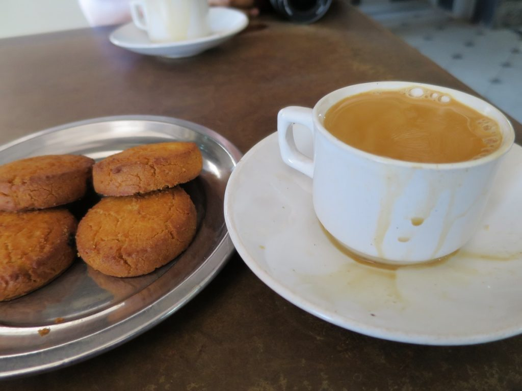 Irani Chai with Biscuits Top Street Food in Hyderabad