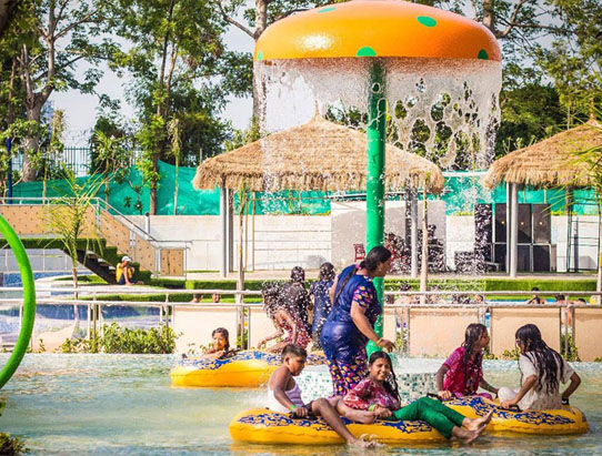 Atlantic Water World Amusement Park in Delhi
