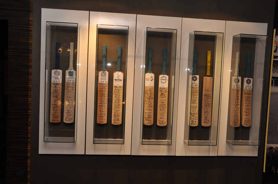 Blades of Glory Cricket Museum Pune