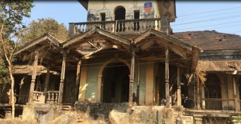 Haunted D'Mello House in Goa