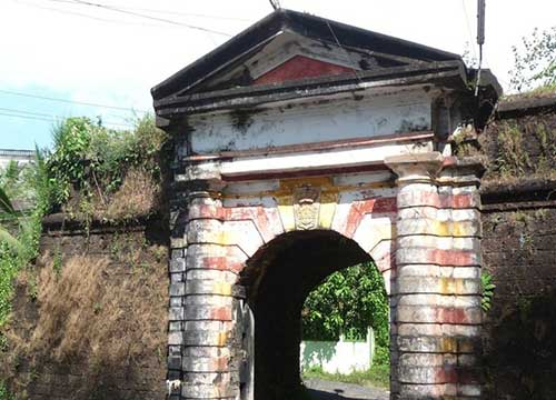Rachol Seminary Arch Most Haunted Places in Goa