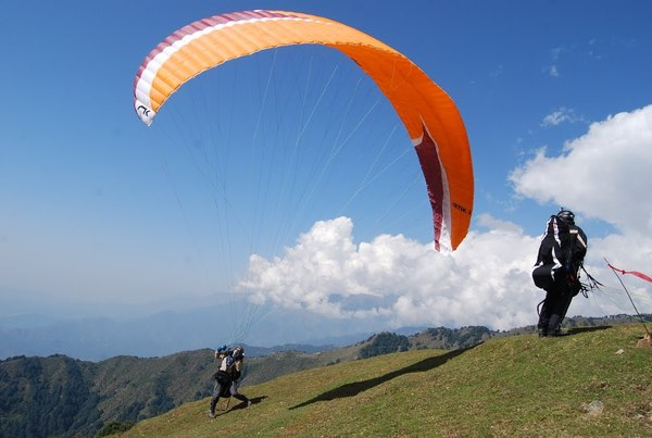 Paragliding in Kamshet Things to do in Lonavala