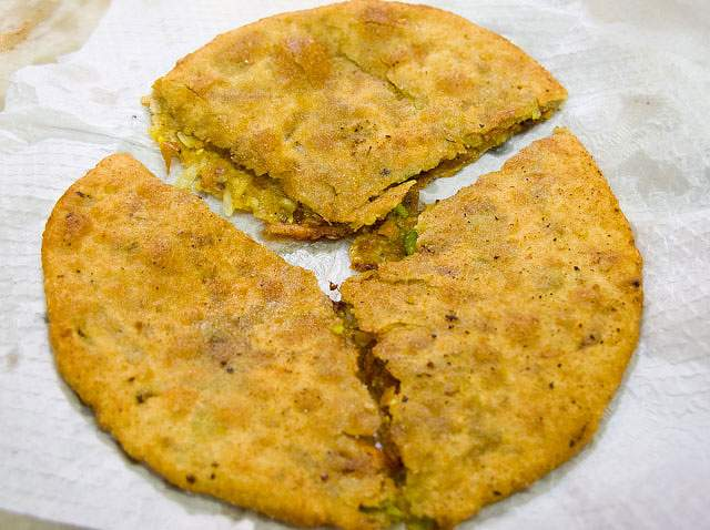 Parantha Best Street Food in South Delhi